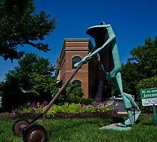 Jeremiah The Bullfrog by DBGuinn