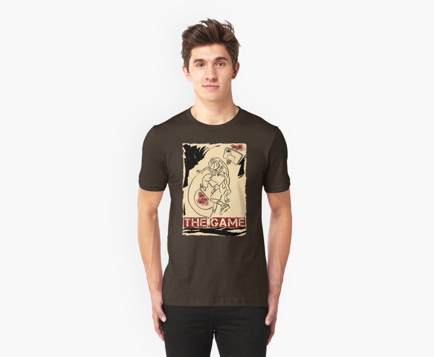 Basketball The Game Inks Black Cream Red by fchagora