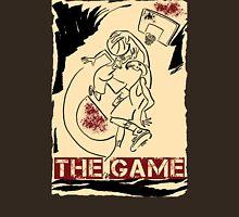 Basketball The Game Inks Black Cream Red Unisex T-Shirt