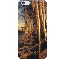 Cup and Icicles iPhone Case/Skin