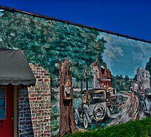 Downtown Cary Wall Art by DBGuinn