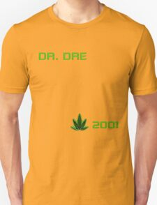MUSIC - Dr Dre 2001 Cover T-Shirt