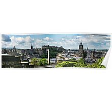 St Giles - Princes Street Panorama Poster