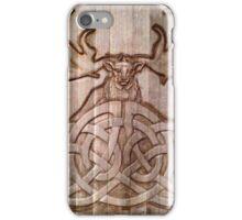 Irish Elk & Wolves iPhone Case/Skin