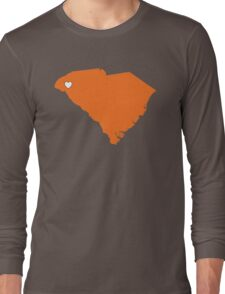 Home Sweet South Carolina (City of Clemson) Long Sleeve T-Shirt