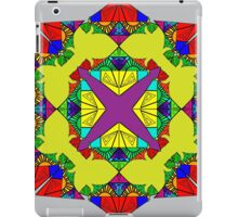 Psychedelic Red Mandela iPad Case/Skin