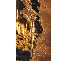 The Icicle Photographic Print