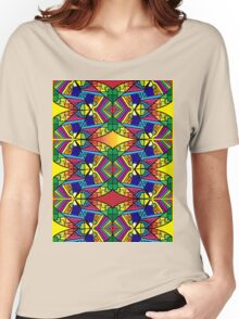 Colorful Psychedelic Pattern 2 Women's Relaxed Fit T-Shirt