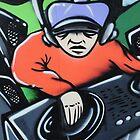 Graffiti artwork in Birstall by James1980