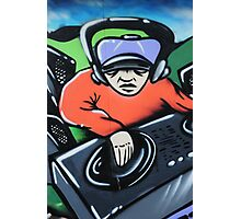 Graffiti artwork in Birstall Photographic Print