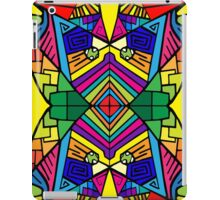 Colorful Psychedelic Pattern iPad Case/Skin