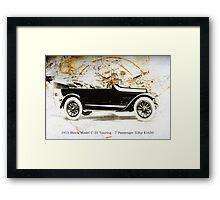 1915 Buick Framed Print