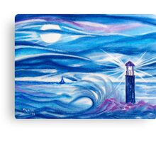 I see the light, I'm sailing home.....:) Canvas Print