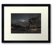 Galactic View from Planet Earth Framed Print