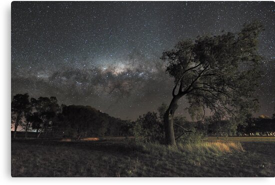 Galactic View from Planet Earth by Alex Cherney