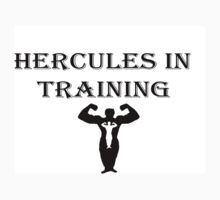 Hercules in Training  One Piece - Short Sleeve