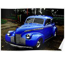 """""""1940 Chevrolet"""" Poster"""
