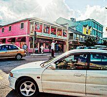 Nassau Traffic Jam by susan stone