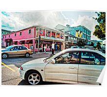 Nassau Traffic Jam Poster