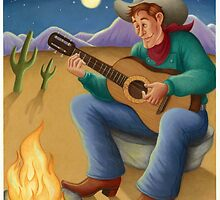 Cowboy Song by MarionEldridge