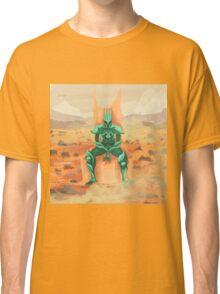 lone alien knight of mars Classic T-Shirt