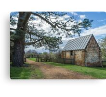 The poultry shed Canvas Print