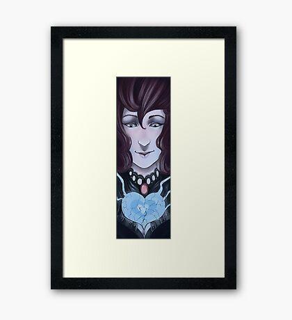 Breaking your heart  Framed Print