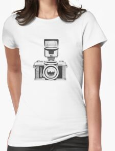 Camera 2 Womens Fitted T-Shirt