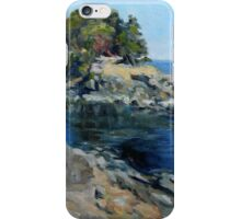 Canoe Pass at Winter Cove iPhone Case/Skin