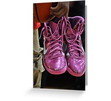 Pink Shoes! Greeting Card