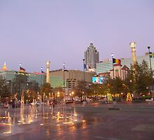 Olympic Park - Atlanta, GA by searchlight