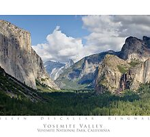 Yosemite Valley - Yosmite National Park by Eileen Ringwald