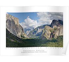 Yosemite Valley - Yosemite National Park Poster