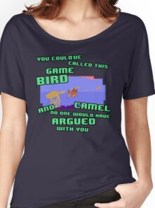 Bird VS Camel Women's Relaxed Fit T-Shirt