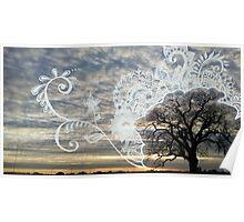 Lucky Tree Henna Poster