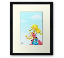 Song of The Goddess Framed Print
