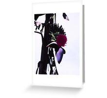 Banana blossom 2 Greeting Card