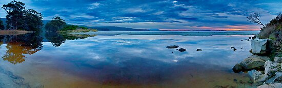 Adventure Bay Dawn Pano - Bruny Island, Tasmania by PC1134