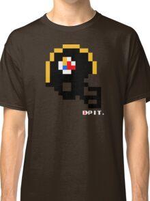 Tecmo Bowl - Pittsburgh - 8-bit - Mini Helmet shirt Classic T-Shirt