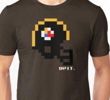 Tecmo Bowl - Pittsburgh - 8-bit - Mini Helmet shirt Unisex T-Shirt