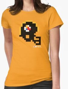 Tecmo Bowl - Pittsburgh Steelers - 8-bit - Mini Helmet shirt Womens Fitted T-Shirt