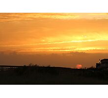 Last Day Summer Sunset Photographic Print