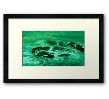 Green Mist Framed Print