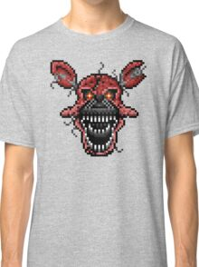 Five Nights at Freddys 4 - Nightmare Foxy - Pixel art Classic T-Shirt
