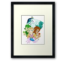 Ocarina Ladies Framed Print