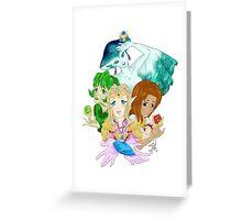 Ocarina Ladies Greeting Card