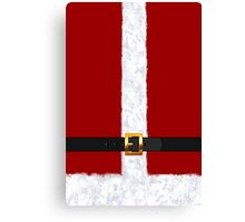 Santa Claus Suit Fashion Statement Canvas Print
