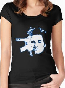 Jack Burton - Big Trouble In Little China  Women's Fitted Scoop T-Shirt