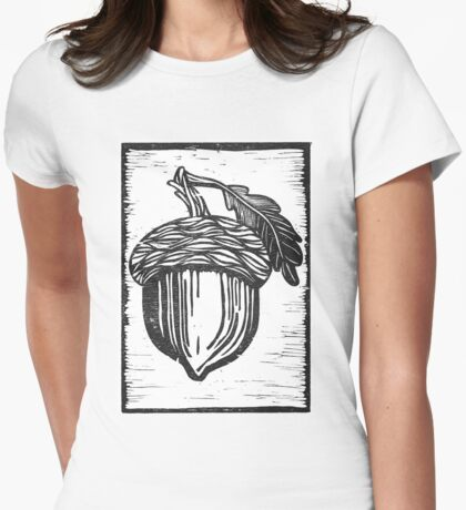 Acorn Womens Fitted T-Shirt