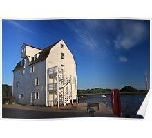 Tide Mill at Dusk Poster